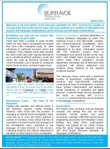 Burravoe Newsletter - March 2012