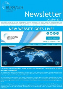 Burravoe Newsletter - October 2013