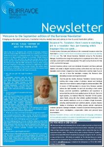 Burravoe Newsletter - September 2012